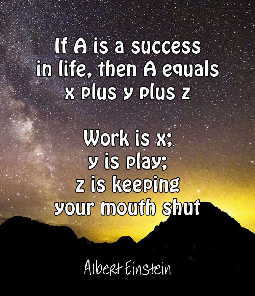 21 Of The Most Inspirational Quotes: 21 Most Inspiring Albert Einstein Quotes
